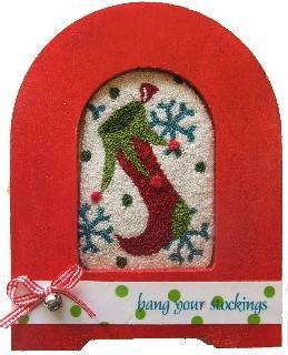 click here to view larger image of Long Stocking Kit (Punchneedle)