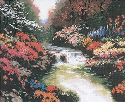 click here to view larger image of Beside Still Waters  (counted cross stitch kit)