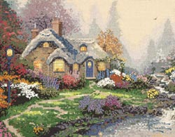 click here to view larger image of Everett's Cottage   (counted cross stitch kit)