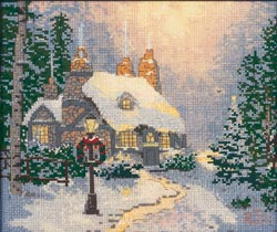 click here to view larger image of Stonehearth Hutch  (counted cross stitch kit)