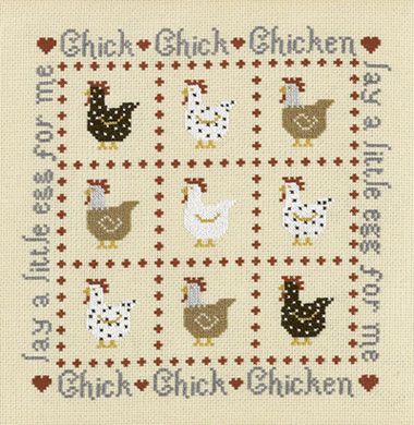 click here to view larger image of Chick Chick Chicken (chart)