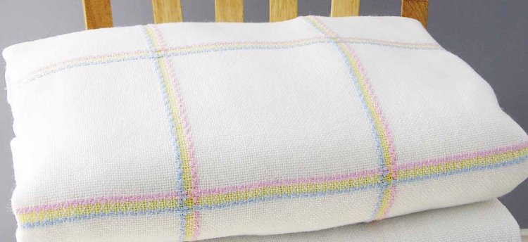 click here to view larger image of Nursery Time Baby Afghan - Rainbow (stitchable)