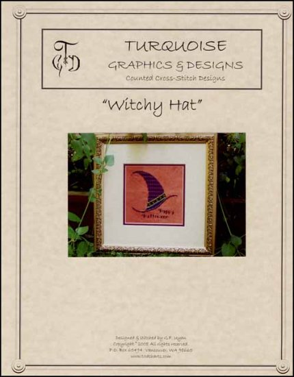 click here to view larger image of Witchy Hat (chart)