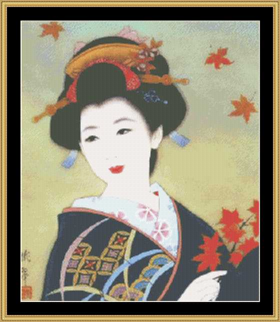 click here to view larger image of Geisha (chart)