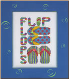 click here to view larger image of Charmed Flip Flops (chart with charms/buttons)