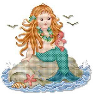 click here to view larger image of Mermaid Baby (chart)