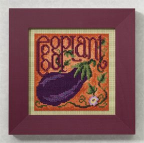 click here to view larger image of Eggplant (2009) (counted cross stitch kit)
