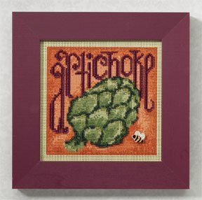 click here to view larger image of Artichoke (2009) (counted cross stitch kit)