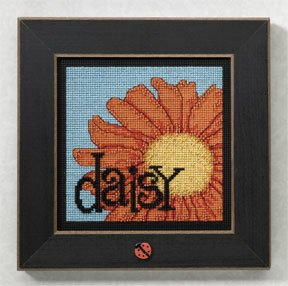 click here to view larger image of Daisy (2009) (counted cross stitch kit)