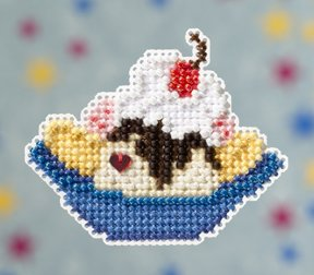 click here to view larger image of Banana Split (2009)  (counted cross stitch kit)