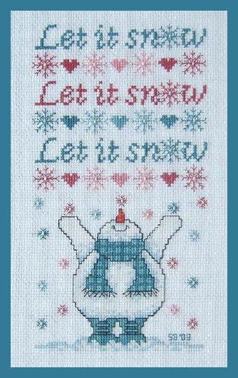click here to view larger image of Let It Snow (chart)