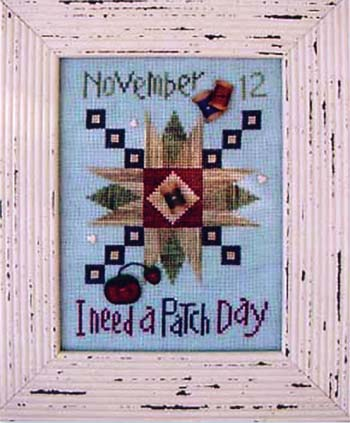 click here to view larger image of I Need A Patch Day (button pack)