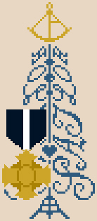 click here to view larger image of Sailor Tree (with Navy Cross) (chart)