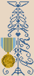 click here to view larger image of Airman Tree (with Medal) (chart)