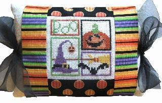 click here to view larger image of Boo Tie One On (counted cross stitch kit)