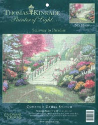 click here to view larger image of Stairway To Paradise  (counted cross stitch kit)