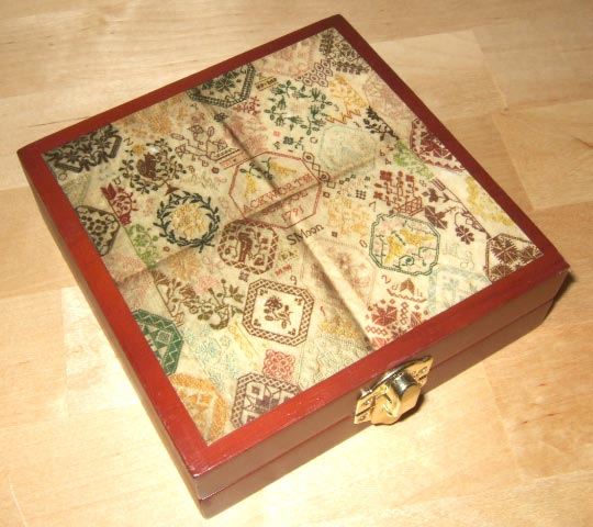 click here to view larger image of Sarah Moon Ackworth Wooden Box (Storage and Craft Organisers)