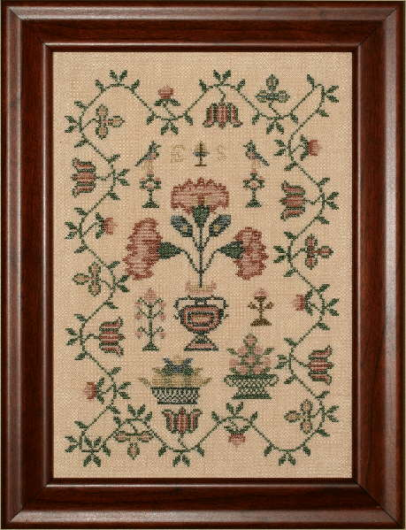 click here to view larger image of ES's Floral Sampler (chart)