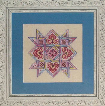 click here to view larger image of Celtic Quilts - Friendship Star (chart)