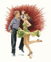 click here to view larger image of Jive (counted cross stitch kit)
