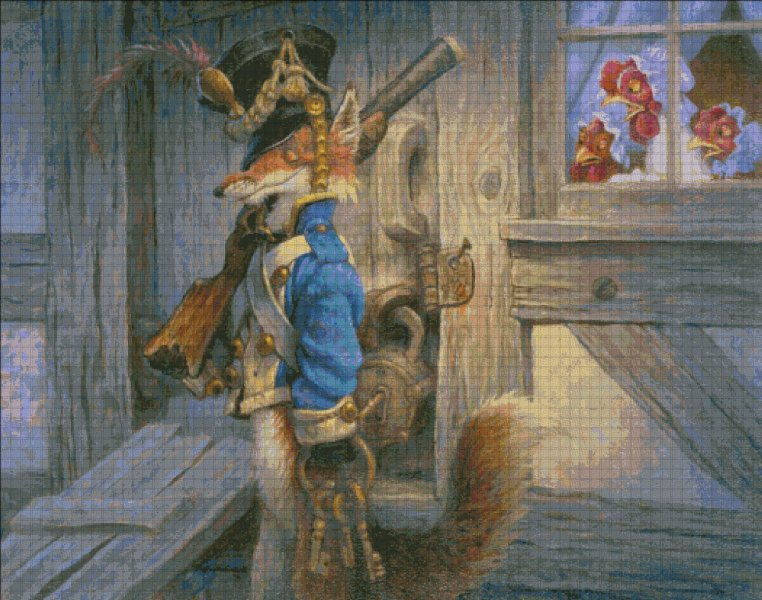 click here to view larger image of Fox Guarding The Henhouse (chart)