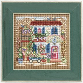 click here to view larger image of Flower Shoppe (counted cross stitch kit)