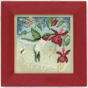 click here to view larger image of Hummingbird (counted cross stitch kit)
