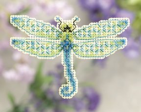 click here to view larger image of Dragonfly  (2011) (counted cross stitch kit)