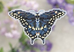 click here to view larger image of Black Swallowtail  (2011) (counted cross stitch kit)