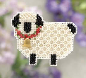 click here to view larger image of Little Lamb  (2011) (counted cross stitch kit)