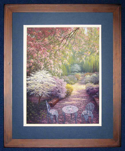 click here to view larger image of Cherry Blossoms (counted cross stitch kit)