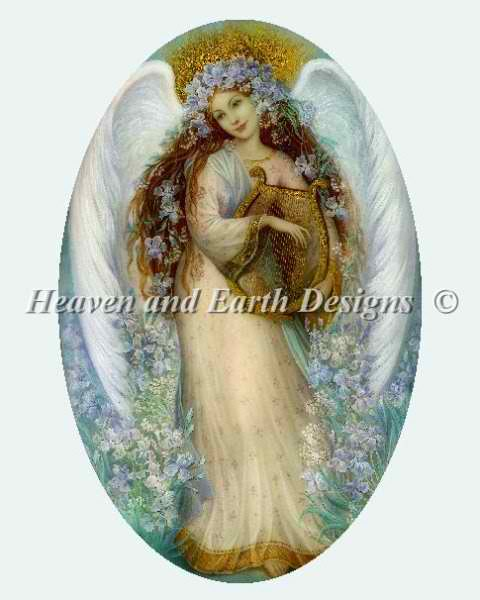 click here to view larger image of Angel with Iris (chart)