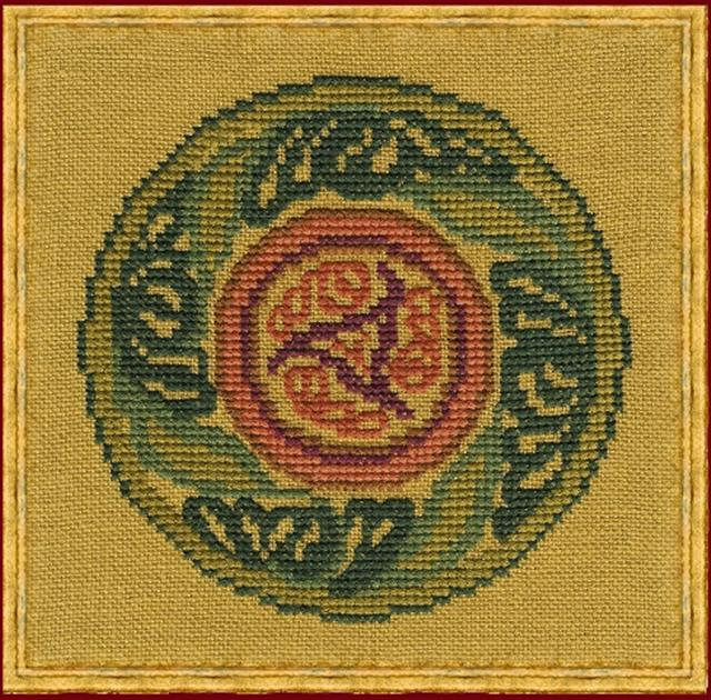 click here to view larger image of Cercle Celtique A (counted cross stitch kit)