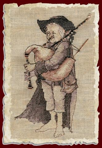 click here to view larger image of Biniou (Chart) (counted cross stitch kit)