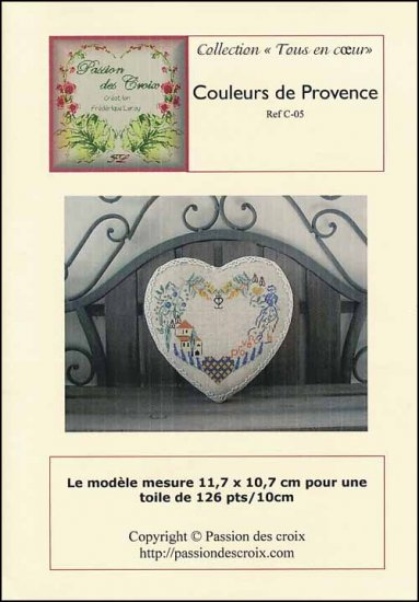 click here to view larger image of Couleurs De Provence (chart)
