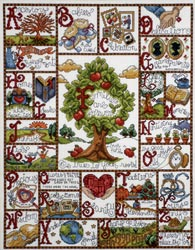 click here to view larger image of Families Are Forever (counted cross stitch kit)