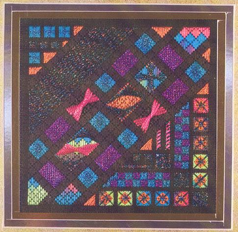 click here to view larger image of Glitz & Glamour - Harlequin Opal (counted canvas chart)