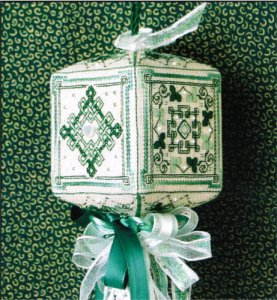 click here to view larger image of Irish Quadrielle (counted cross stitch kit)