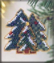 click here to view larger image of Winter Forest (counted cross stitch kit)