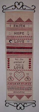 click here to view larger image of Greatest of These, The (chart)