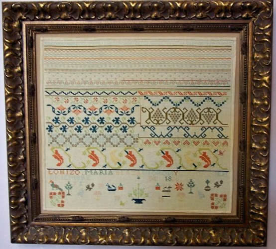 click here to view larger image of Chili Pepper Sampler - Maria Blaza Moran 1820 (chart)
