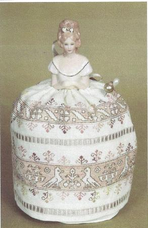 click here to view larger image of Assisi Pincushion Doll (chart)