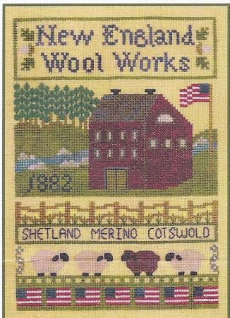 click here to view larger image of New England Wool Works (chart)