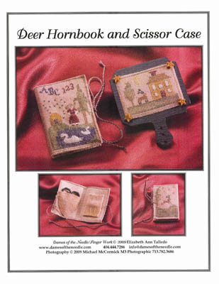 click here to view larger image of Deer Hornbook & Scissor Case (chart)