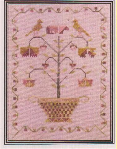 click here to view larger image of Eliza's Tree Sampler (chart)