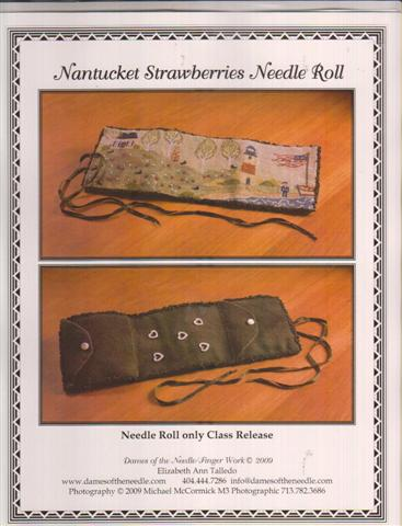 click here to view larger image of Nantucket Strawberries Needle Roll (chart)