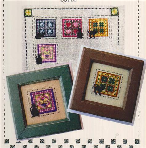 click here to view larger image of Little Bitty Kitty Quilt Club - Mar & April (chart)