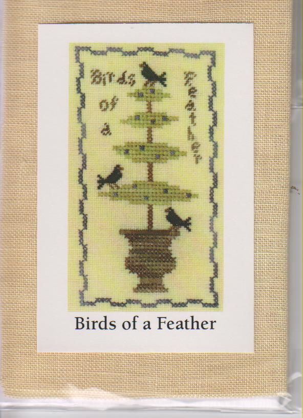 click here to view larger image of Birds of A Feather (counted cross stitch kit)