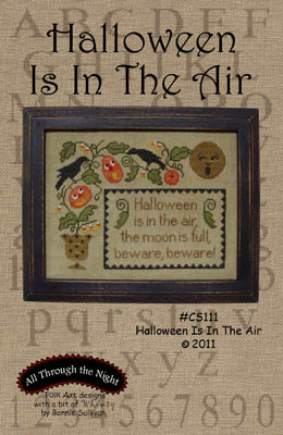 click here to view larger image of Halloween Is In The Air (chart)