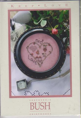 click here to view larger image of Keep Love (counted cross stitch kit)